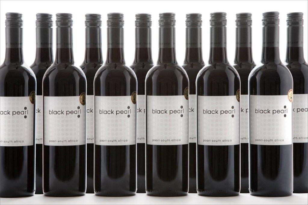 Black Pearl Red Wine Bottles