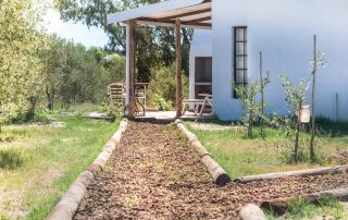peach-pit-path at Boerfontein Self Catering Accommodation
