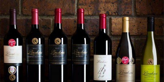 Domaine Brahms Wine Bottles