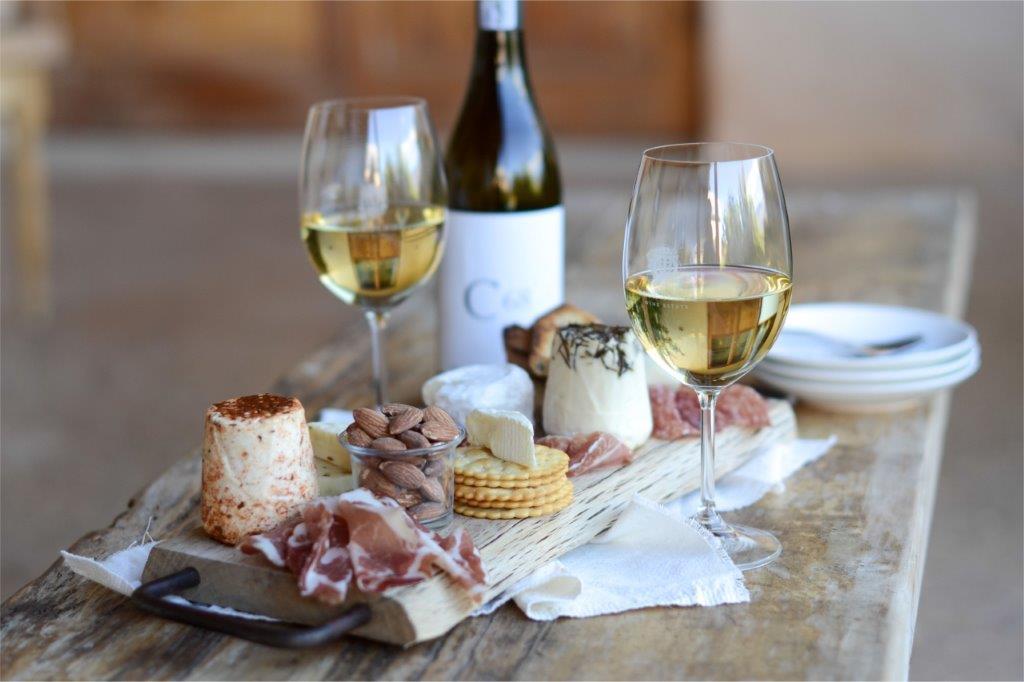 Cheese Wine Parma Ham