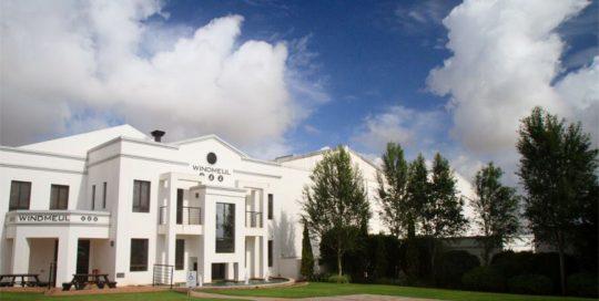 White Windmeul Estate Building