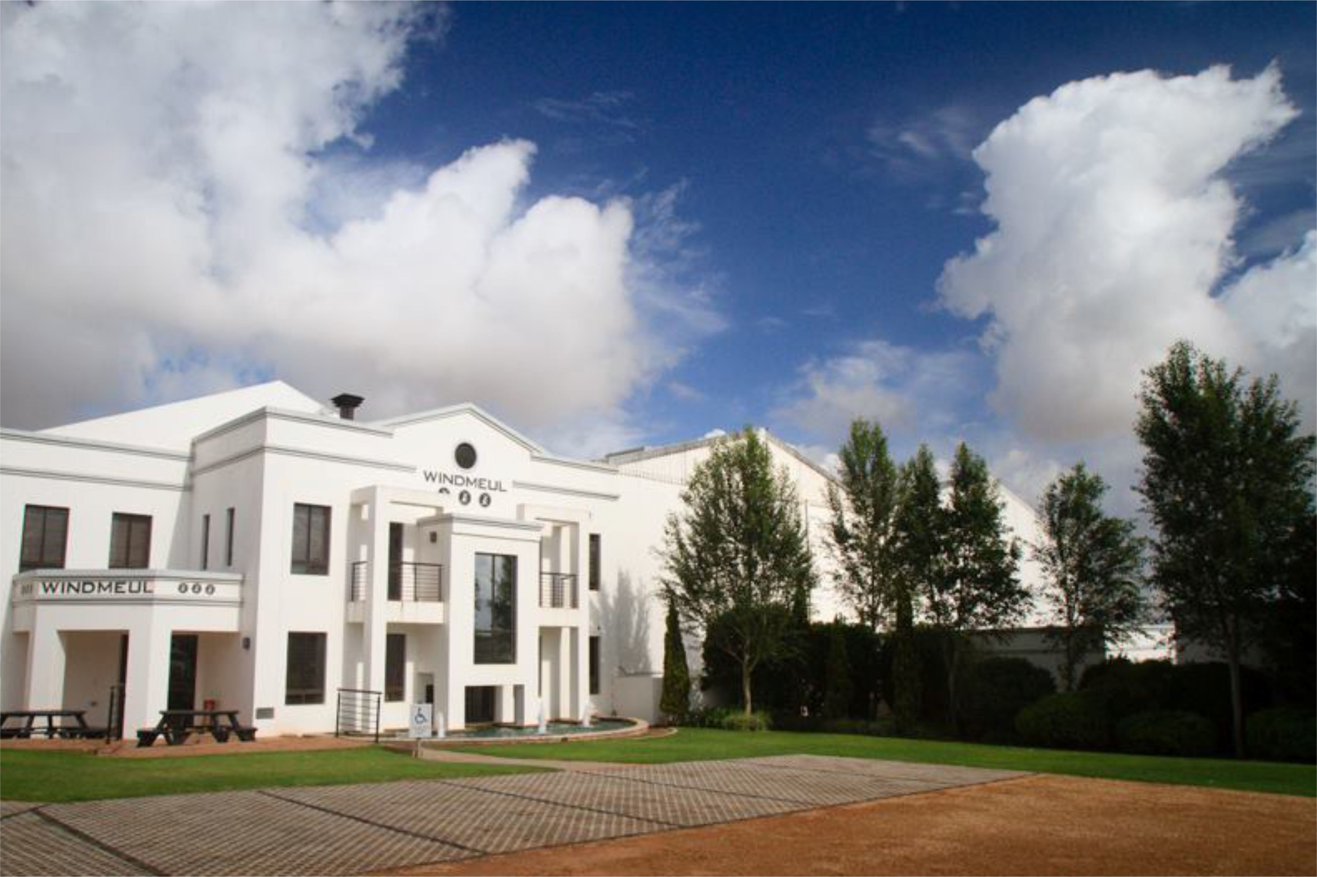 White Windmeul Estate Building